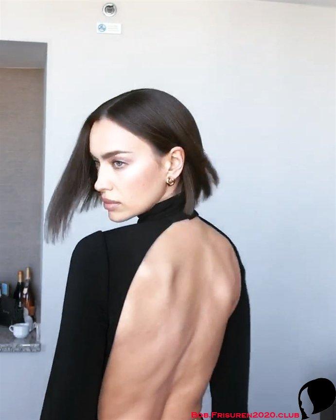 Bob Frisuren 2020 Frauen Irina Shayk