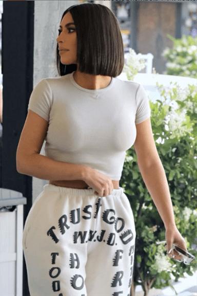Klassische Trendige Bob Frisuren Kim Kardashian West
