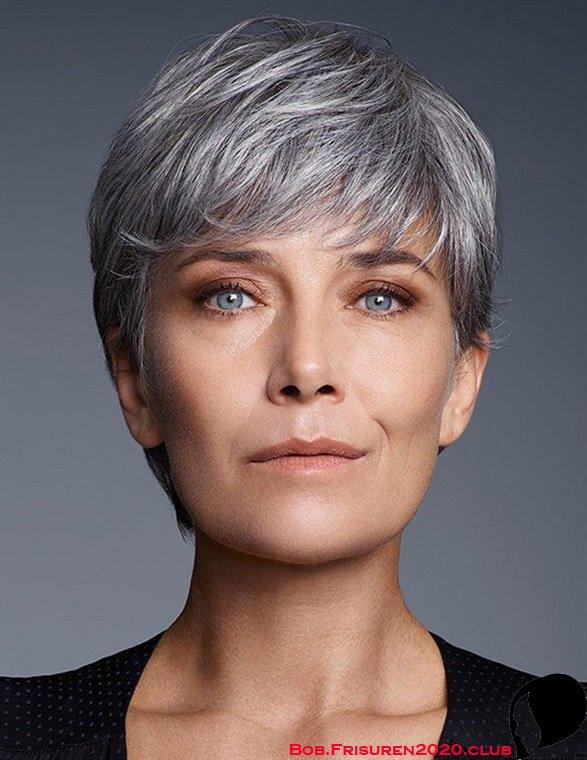 Frische Frisuren für 50 Jahre alte Frau